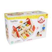 LE TOY VAN WOODEN TOOL BOX