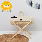 THE LITTLE GREEN SHEEP MOSES BASKET STAND