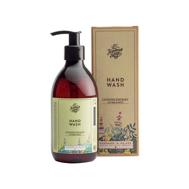 The Handmade Soap Company Hand Wash - Lavender, Rosemary, Thyme & Mint