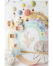 Authentic Models Hot Air Balloon - White & Ivory (Various Sizes)