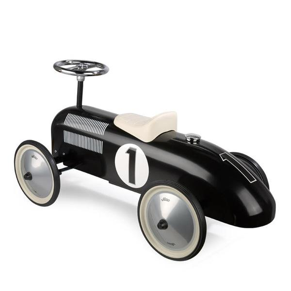VILAC VINTAGE RIDE ON CAR - BLACK