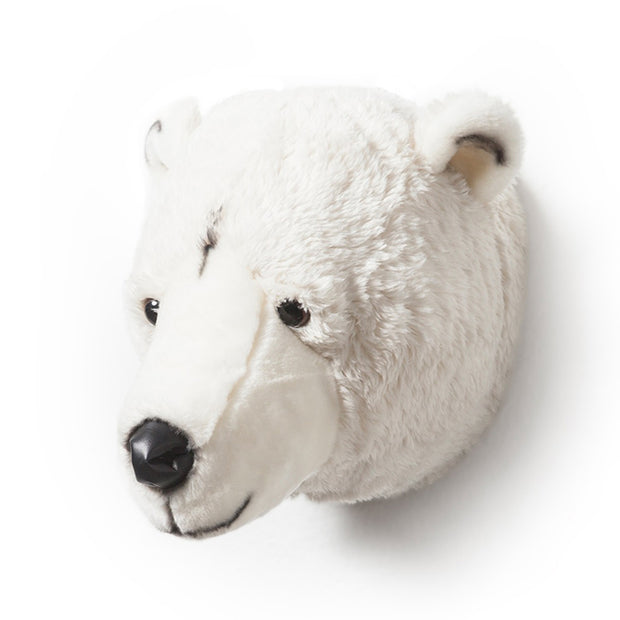 WILD & SOFT WALL TOY - BASILE THE POLAR BEAR