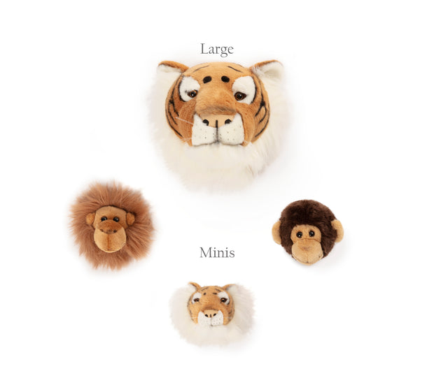 WILD & SOFT WALL TOYS - JUNGLE BOX 3 PACK