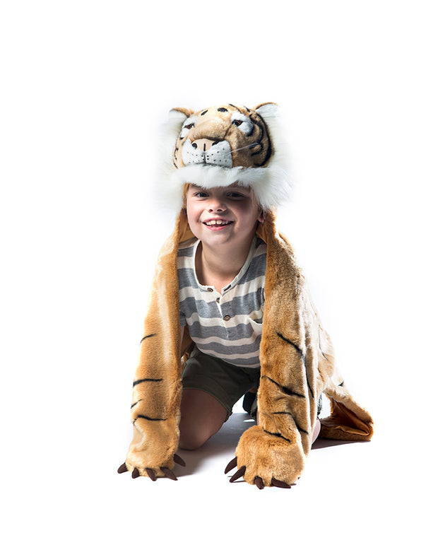 WILD & SOFT ANIMAL COSTUME - TIGER