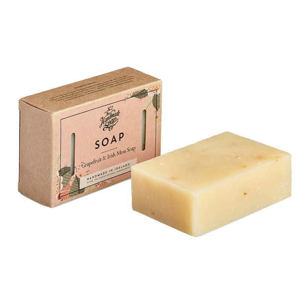 The Handmade Soap Company Soap Bar - Grapefruit & Irish Moss