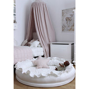 COTTON & SWEETS LINEN JUNIOR PLAY NEST - WHITE