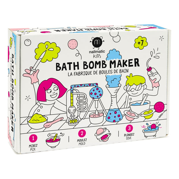 NAILMATIC KIDS DIY BATH BOMB GIFT SET