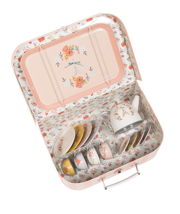 Moulin Roty Les Parisiennes 14 piece Tea Set