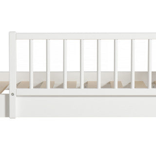 OLIVER FURNITURE WOOD JUNIOR DAY BED - WHITE | OAK (90 X 160 | 200 CM)
