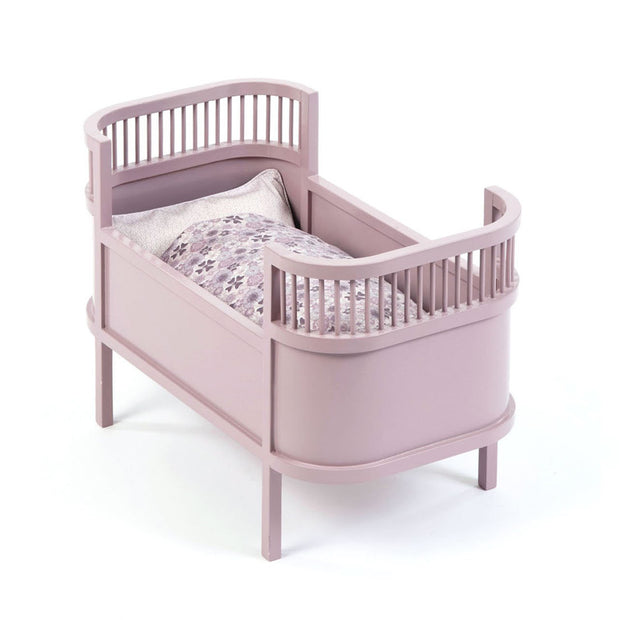 ROSALINE DOLLS BED - POWDER