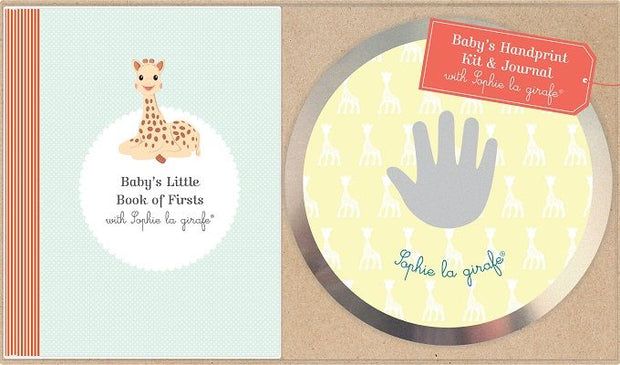 SOPHIE THE GIRAFFE HAND PRINT KIT & JOURNAL GIFT SET