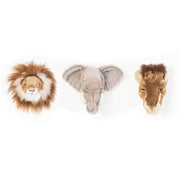 WILD & SOFT WALL TOYS - SAFARI MINI 3 PACK