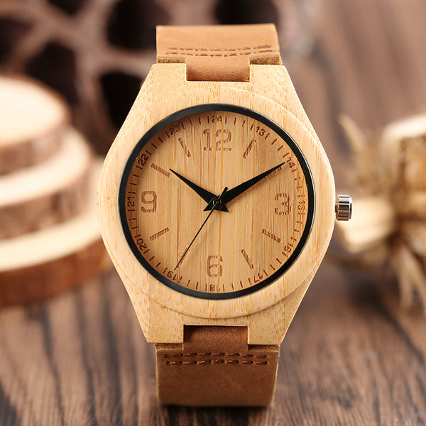 N&M Montre en bois School