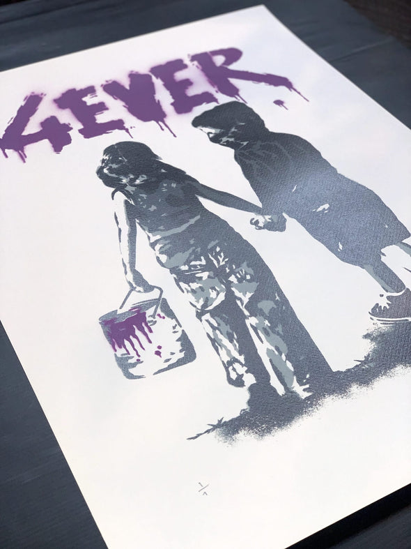 Alessio B - '4EVER' Purple Unique Variant
