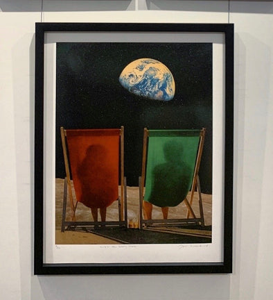 Joe Webb  - 'Wish You Were Here - Red and Green'