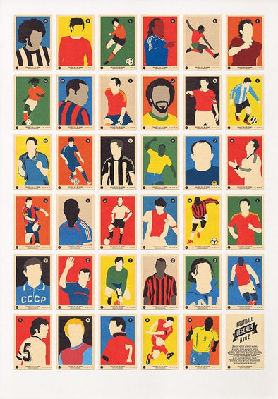 67 Inc - 'Football Legends A to Z'