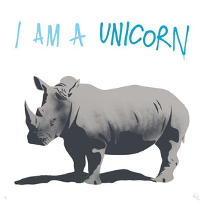 Pure Evil - 'I Am A Unicorn' Artist's Proof