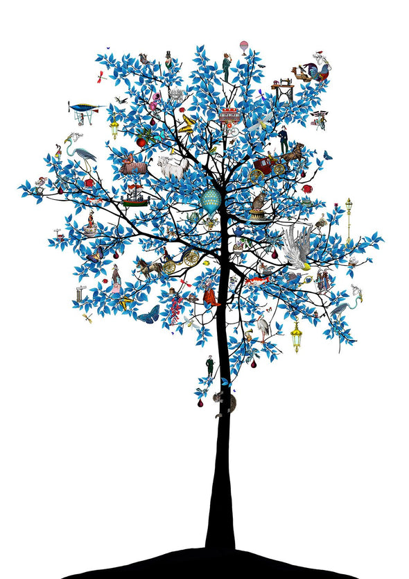 Kristjana S Williams - 'Mammalian Blue Folk Tree'