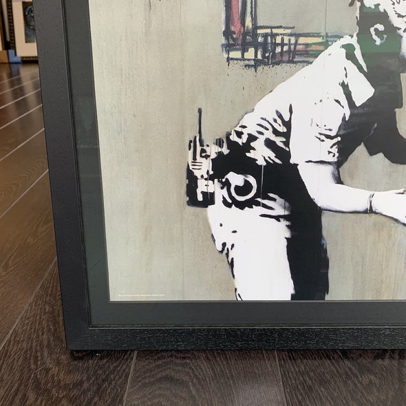 Banksy - 'Beyond The Streets' Official Show Poster (Pre-Order)