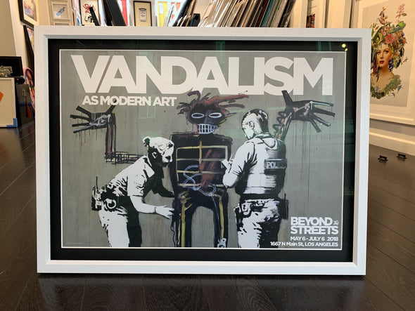 Banksy - 'Beyond The Streets' Show Poster