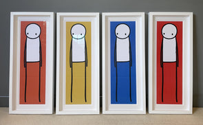 STIK - 'Big Issue Posters' (Rare Complete Set of 4)