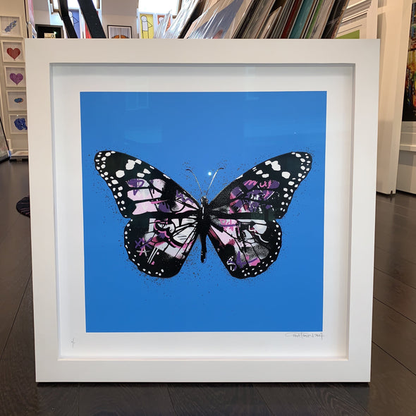 Martin Whatson - 'Butterfly' (Blue Background Special Edition)