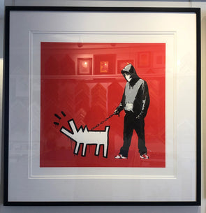 West Country Prince - 'Choose Your Weapon' Banksy Replica