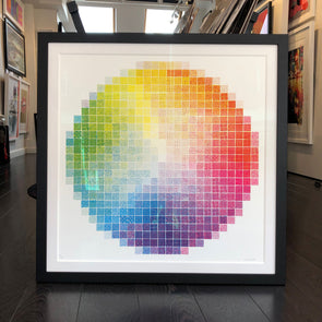 Jess Wilson - 'Colour Wheel Experiment 1'
