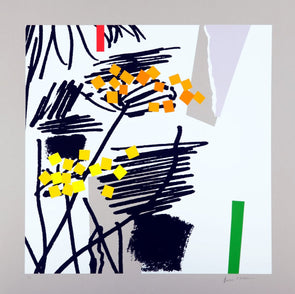 Bruce McLean - 'Cool White Spring'