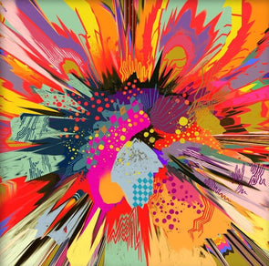 Victoria Topping - 'Cosmic Abstraction II'