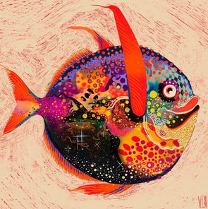 Victoria Topping - 'Cosmic Fish'