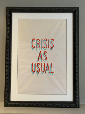 Banksy - 'Crisis As Usual'