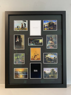Banksy - 'Complete Set of 'Crude Oils' Postcards'