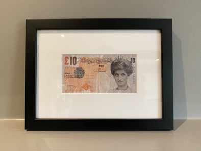 Banksy - 'Di-faced Tenner'