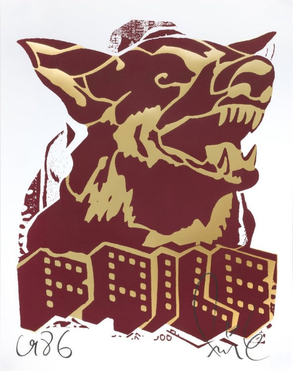Faile - 'Dog Red/Gold'