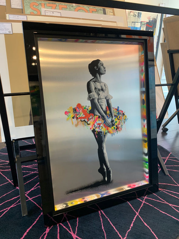 Martin Whatson - 'En Pointe' Hand Finished On Aluminium