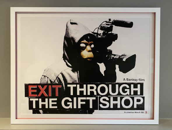 Banksy - 'Exit Through The Gift Shop' Poster
