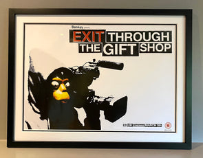 Banksy - 'Exit Through The Gift Shop' Original Film Poster (A2 Version)