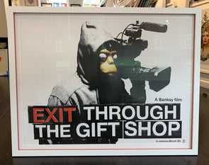 Banksy - 'Exit Through The Gift Shop' Poster (Pre-Order)