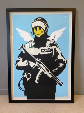 West Country Prince - 'Flying Copper' Banksy Replica