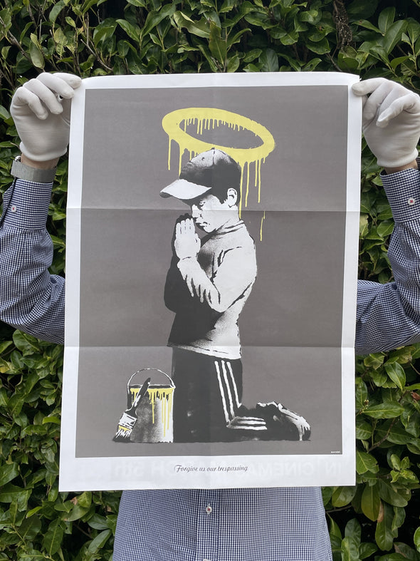 Banksy - 'Forgive Us Our Trespassing' (Folded)