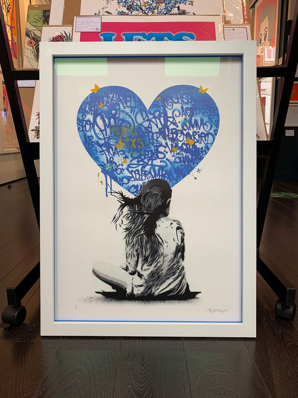 Alessio B - 'Girl With Heart Tags - Blue'