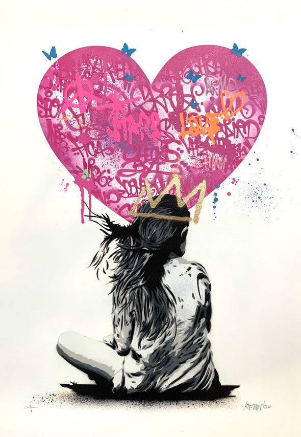 Alessio B - 'Girl With Heart Tags 1'