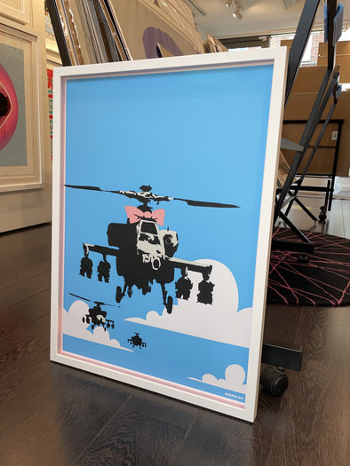 West Country Prince - 'Happy Choppers' Banksy Replica