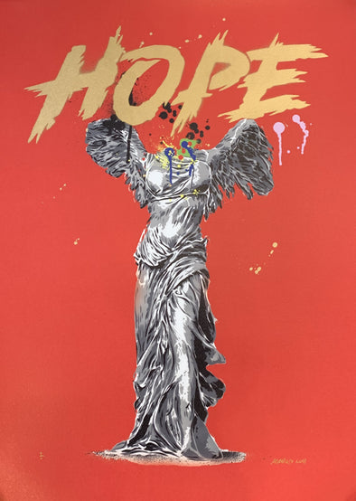 Alessio B - 'Hope' Red Unique Variant