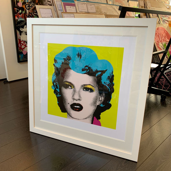 West Country Prince - 'Kate Moss (Lime)' Banksy Replica