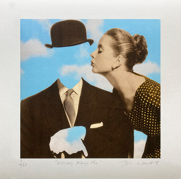 Joe Webb  - 'Kissing Magritte'