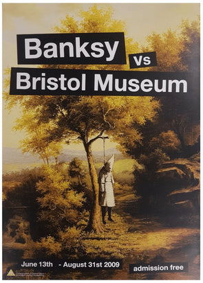 Banksy - 'Banksy Vs Bristol Museum Posters' (Full Set of 4)