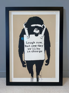 West Country Prince - 'Laugh Now' Banksy Replica