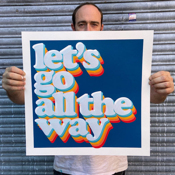 Oli Fowler - 'Let's Go All The Way (Blue)'